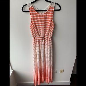 Double Zero Striped Maxi Dress 👗